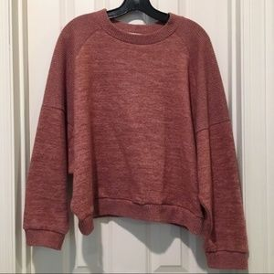 EUC Melrose & Market Dusty Rose/Mauve Sweater SZ M